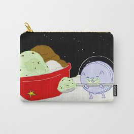 Macaroon Cat w/ Ice Cream Carry-All Pouch