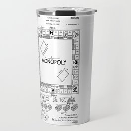 Monopoly Patent drawing Travel Mug