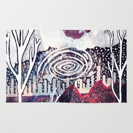 Night Travels revisited Rug