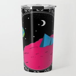Cohabitation ain't no option Travel Mug