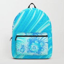 Abstract Christmas Ice Garden Backpack