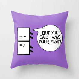 First Throw Pillow