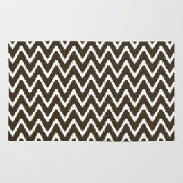 Cola Southern Cottage Ikat Chevrons Rug