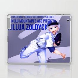 Kululu Mountain's Ace Pitcher Laptop & iPad Skin