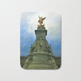 Victoria Memorial Golden Statue Bath Mat