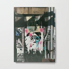 Williamsburg Face Metal Print