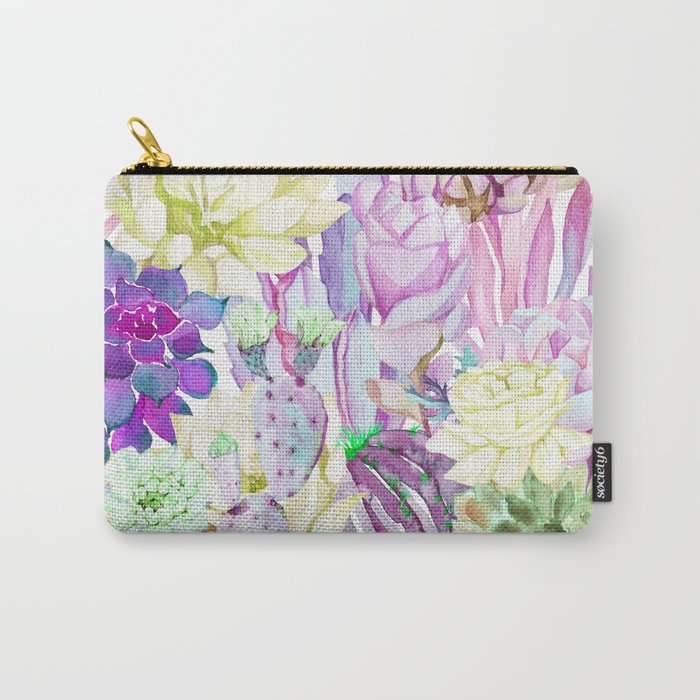 Lilac garden Carry-All Pouch
