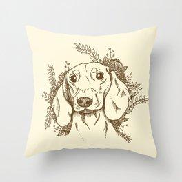 Sausage Throw Pillow