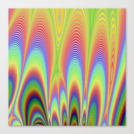 Fractal Rainbows Canvas Print