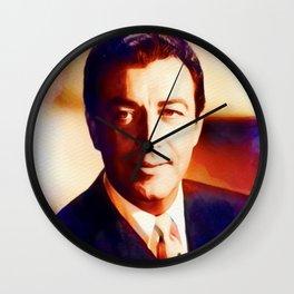 Robert Taylor, Hollywood Legend Wall Clock