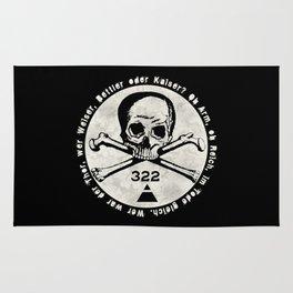 Skull & Bones Rug