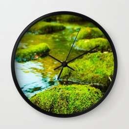 Stepping Stones Wall Clock