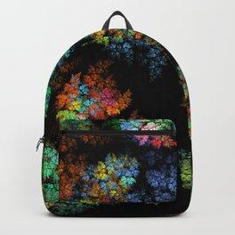 Leaves - fractal art Backpack