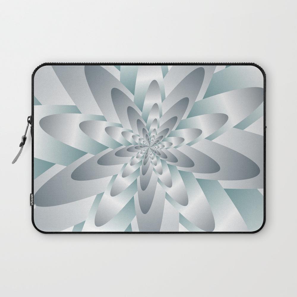 Satin Flower Art Laptop Sleeve LSV8970774