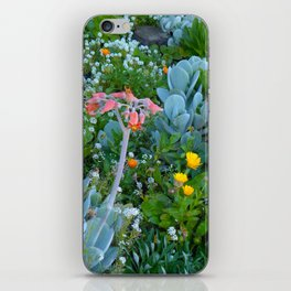 Succulents & Flowers iPhone Skin