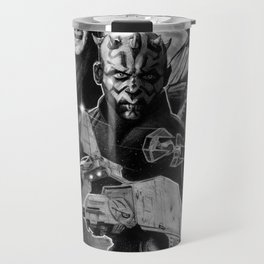 Dark Side StarWars Darth Vader Darth Maul Sith Storm Trooper kylo Dooku Sidious Travel Mug
