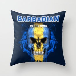 To The Core Collection: Barbados Throw Pillow