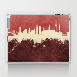 Hamburg Germany Skyline Laptop & iPad Skin