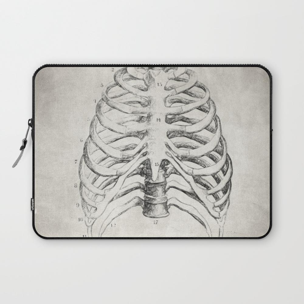 Rib Cage Laptop Sleeve LSV8767819