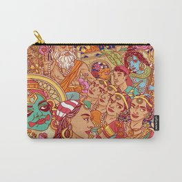 Inspired by India Carry-All Pouch