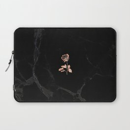 Forever Petal (Black Rose) Laptop Sleeve
