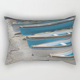 Boats of Capri Rectangular Pillow