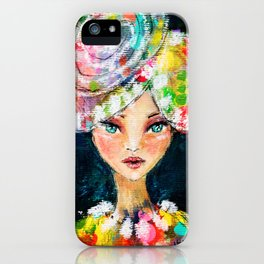 High Society Girl iPhone Case