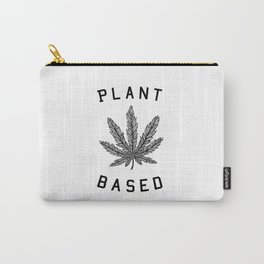 plant based marijuana leaf Carry-All Pouch