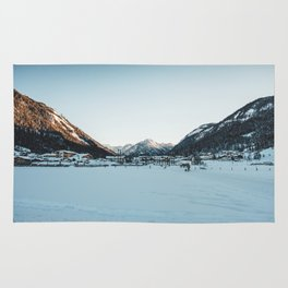 Mountains of Austria Rug