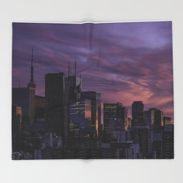 Summer in the 6ix Throw Blanket