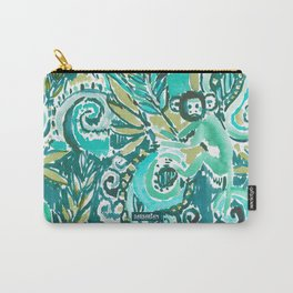MONKEY TRICKSTER - JADE Carry-All Pouch