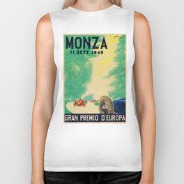 Grand Prix Monza, 1949, Gran Premio Monza, vintage poster Biker Tank