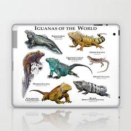 Iguanas of the World Laptop & iPad Skin