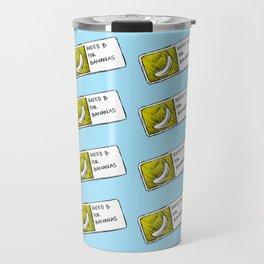 Bananas Pattern Travel Mug