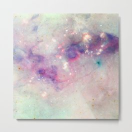 The colors of the galaxy Metal Print