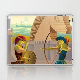 trojan war and troy horse Laptop & iPad Skin
