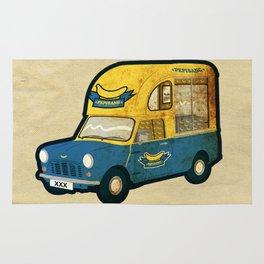 PEPISANG Banana Mobil Rug