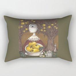 Portrait of an Apple Orchard Rectangular Pillow