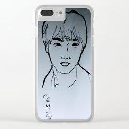 Jin (Bangtan) 防弹少年团: 金 Clear iPhone Case
