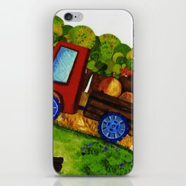Farmer Jones's Tractor iPhone Skin