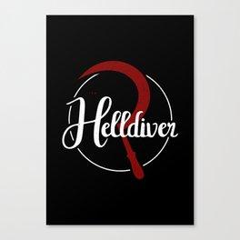 The Helldiver Canvas Print