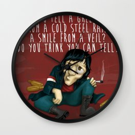 Pink Floid - wish you where here (sad songs series) Wall Clock