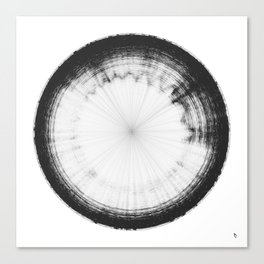 Sound of Saturn's Rings Canvas Print