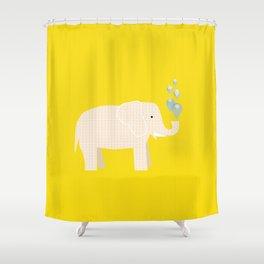 Magic Elephant II Shower Curtain