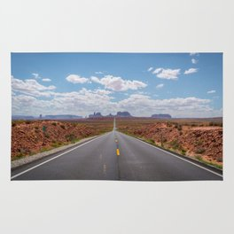 Highway 163, Monument Valley Rug