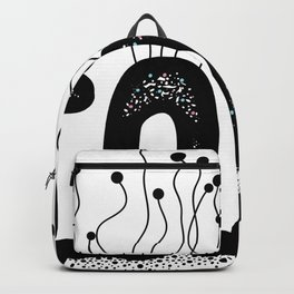 Toxic Cute Typography Design Backpack