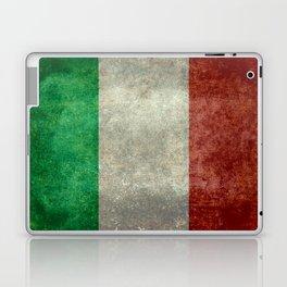 Flag of Italy, Vintage Retro Style Laptop & iPad Skin