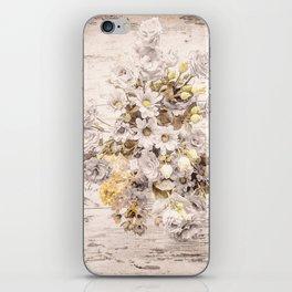 Golden brown texture like sun iPhone Skin