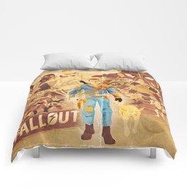 FALLOUT FAN ART Comforters