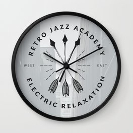 Retro + Vintage Electric Relaxation Wall Clock